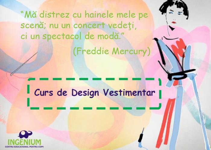 Curs de Design Vestimentar pentru copii